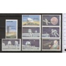 NAGALAND 1973-150 Space-Apollo 17th 8 stamps ** complete set