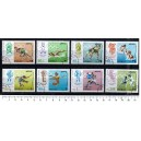 DUBAI 1968-1953 Mexico's oly games  8 used stamps complete