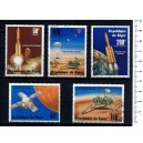 NIGER 1977-3729 Viking space mission - 5 used stamps complete se