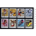 POLONIA 1972-2158 Munich oly games  8 stamps used complete