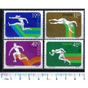 POLONIA 1975-3434N Sport-Atletica  4 val. NSG completi