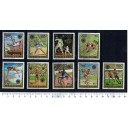 BOURUNDI 1972-2529 Munich oly games  9 used stamps complete