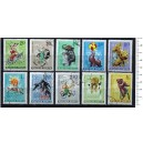 HUNGARY 1965-3569 Circus Scenes - 10 used stamps complete set