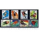 PARAGUAY 1975-3522 Innsbruck's Oly Games - 8 stamps used comple