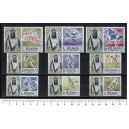 FUJEIRA 1964-19-27 Tokyo's Olympic Games - 9 stamps MNG cpl se