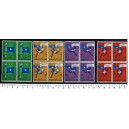 SOMALIA AFI 1960-1239 Oly Games of Rome - block of 4 x 4 stamps