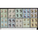 HUNGARY 1965-3569 Circus Scenes - block of 4 x 10 used stamps c