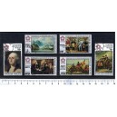 TOGO 1975-3604 American Paintings - 6 stamps used cpl.