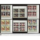 CUBA 1976-3664 Ballet festival - block of 4 x 6 stamps used cpl