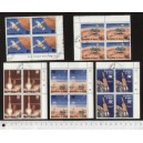 NIGER 1977-3729 Viking space mission - block of 4 x 5 used stamp