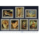 HUNGARY 1974-2380-86 Naked Paintings -7 val. MNG complete set