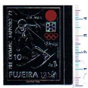 FUJEIRA 1971-667 Pre-Oly Sapporo  1 val. ND ** silver foil compl