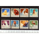 ROMANIA 1963-1908-15 D-415 Breeding from courtyard - 8 stamps used complete set