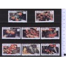 EYNHALLOW 1973-112 Wild fruits & Scouts  8 stamps ** complete se