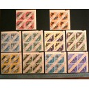 SHARJAH 1965-117a-36a Science and transports - 20 stamps complete set mint with out glue