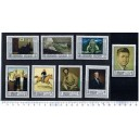 SHARJAH 1968-330-337  Paintings of American Artists - 8 stamps complete set  **MNH