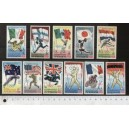YEMEN K. 1968-517-27 Ten Olympic Years - Block of 4 x 11 values mint complete set  with out glue