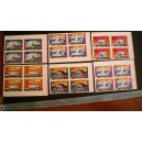 FUJEIRA 1970-404-13 Osaka's Expò - Block of 4 x 6 values mint complete set with out glue