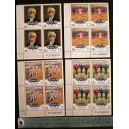 FUJEIRA 1970-519/522  -  75th Olympic Games - Block of 4 x 4 stamps **MNH complete set