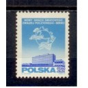 POLAND 1970-1856 75 ° anniversary of the peasant movement in Poland - 1 stamps mint complete set with second choice glue