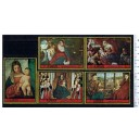 AJMAN 1972-1818-1822  Archaeological bronzes of Naples and Pompei - 5 stamps **MNH complete set