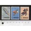 GRENADA 197_- LS 16 Various ships - 3 mint **MNH stamps