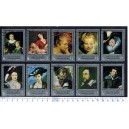 Y.A.R. 1968-1207 Paintings by Paul Gauguin - 10 stamps used complete set