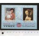 YEMEN K. 1968-1647 LS  Mother's Day: Famous Paintings - 6 stamps used complete set