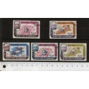 QU'AITI 1967-LS 198 UNICEF: DIFFERENT EVENTS - 8 used stamp complete set