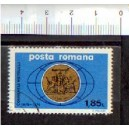 ROMANIA 1975- LS RO 09  Republic Coat of Arms - 1 stamp used complete set