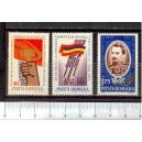 ROMANIA 1973-2751/54 CULTURAL ANNIVERSARY - 4 values **MNH complete set