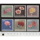 SQUIPERIE 1975-3366 Various flowers  8 stamps us. complete