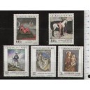 """CZECHOSLOVAKIA 1967-1641/46  PHILATELIC EXHIBITION """"PRAGUE '68 - 6 stamps mint complete set with out glue"""