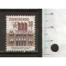 CZECHOSLOVAKIA 1971-1864 World-wide conference of the road - 1 stamp mint complete set with out glue