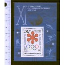 U.R.S.S. 1972-BF 76 Munich's Olympic games - 1 s/s mint complete set **MNH