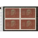U.R.S.S. 1970-3692 24th Congress of the Soviet Communist Party - 1 value  **MNH complete set with second choice glue