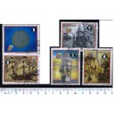 PARAGUAY 1989-465 20 Years Mission Apollo 11th - 5 stamps cpl.