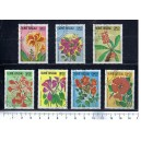 GUINEA BISSAU 1983-435 Flowers - 7 used stamps complete set