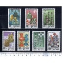 GUINEA BISSAU 1983-495 History of Chess 7 stamps us. comple