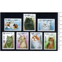 KAMPUCHEA 1988-209 Cats  7 stamps used complete set