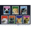 PARAGUAY 1984-219 Cats 7 stamps used complete set